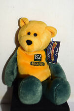 """Estate=9""""Beanie #82 Desmond Howard Green Bay Packer Collector Bear LOOK"""