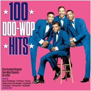 100 Doo-Wop Hits 4-CD NEW SEALED Earls/Spaniels/Penguins/Crew-Cuts/Del-Vikings+