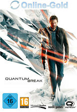 Quantum Break - PC Standard Game Key - Steam Digital Download Code NEU [DE][EU]