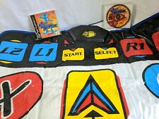 Dance Dance Revolution Konamix PS1 Game & Mad Catz Beat Pad Dance Mat Controller