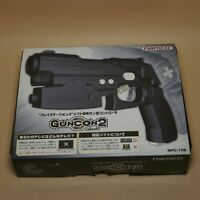 PlayStation 2 Light Gun Con Namco NPC-106 PS2 Guncon in Box Made in Japan Black