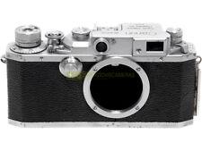 Canon IIb, fotocamera a pellicola con telemetro, innesto a vite 39mm. Screw M39.