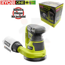 Ryobi P411 ONE+ 18-Volt 5 in. Cordless Random Orbit Sander Tool Only, New in Box