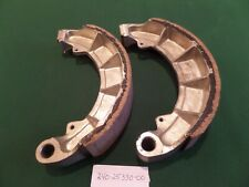 2 ORIGINAL YAMAHA  REAR  BRAKE SHOES TD2 TR2 TD3 TR3 TZ250 TZ350 240 25330 00