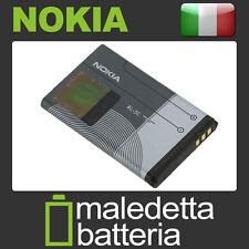 BL-5C Batteria ORIGINALE per Nokia C2-00 C2-01 C2-02 E50 E60 N70 N71 N91 (KN2)