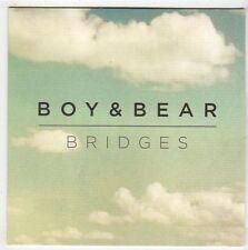 (EZ2) Boy & Bear, Bridges - 2014 DJ CD