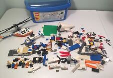 LEGO City Coast Guard Helicopter 60013 Incomplete, Random Mix Lot Boat Minifig C