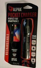 New - Weather Resistant Led Flashlight & Portable Device Charger