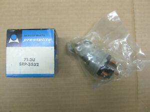 Prestolite universal ignition switch, 71-3U (SRP-3532), 4 position, 6-12-24V NOS