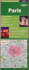 Lonely Planet Paris City Map Laminated 1st Edition