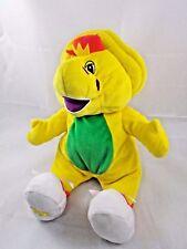 """Fisher Price Fun 'n Floppy BJ Dinosaur Plush 13"""" Barney Sings"""