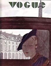 VOGUE November 1 1932 Mourgue Steichen Horst Huene Cecil Beaton Vionnet
