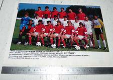 CLIPPING POSTER FOOTBALL 1988-1989 US VALENCIENNES ANZIN USVA STADE NUNGESSER