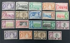 MONTSERRAT 1953 0.5c to $4.8 SG 136a - 149a Sc 128 - 142 146 - 149 set 15 +4 MLH