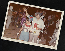 Vintage Photograph Pinocchio & Gepetto - Halloween Costumes at Party