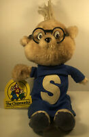 "Vintage 1983 Alvin and the Chipmunks Simon Plush Doll 12"" w/Tags CBS Stuffed Toy"