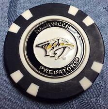 NHL Nashville Predators Poker Chip Ball Marker