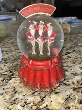 75 Years Radio Radio City Rockettes Christmas Spectacular Snow Globe