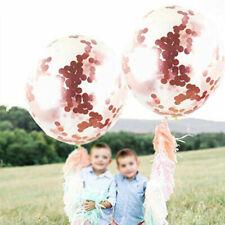 Confettis roses pour le mariage