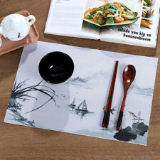 Heat Insulated Western Placemat Kitchen Dining Waterproof Table Mat Pad shan