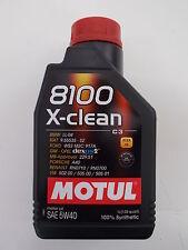 MOTUL 8100 X-CLEAN 5W40 100% SYNTHETIC 1 LITRO