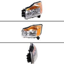 New NI2502168 Driver Side Headlight for Nissan Titan 2008-2015