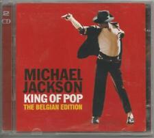 MICHAEL JACKSON - King Of Pop - 2 CD 2008 Belgian Edition Usato Buone Condizioni