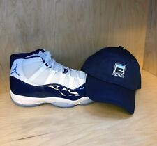Hat to match Air Jordan Retro 11 Win  Like 82 Sneakers. E-Navy Dad hat