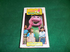 Barney & Friends Time Life VHS VIDEO-Caring Means Sharing OOP with Orignal Cast