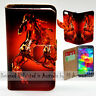 Wallet Phone Case Flip Cover for Samsung Galaxy S5 - Water Splash Horse Print