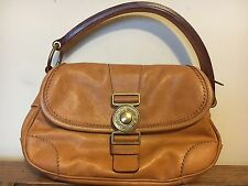 Miu Miu Italian Leather Prada Designer Brown Shopper Shoulder Grab Vgc RRP £249