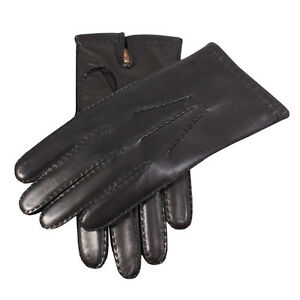 Dents Chelsea Mens 100% Cashmere Lined Handsewn Leather Gloves BNWT Style 5-1542