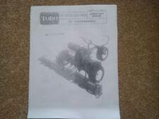 Toro 70 Professional Mower Operator Owner Manual (ref52)