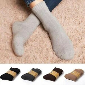 Lamb Wool Cashmere Comfortable Thick Sock Unisex Winter Warm Outdoor Sport Socks