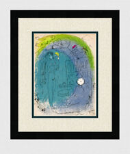 """Original 1952 MARC CHAGALL M82 Limited Lithograph """"Mother & Child"""" Framed COA"""