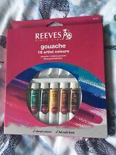 Reeves Gouache 18 Artist Colours Paint