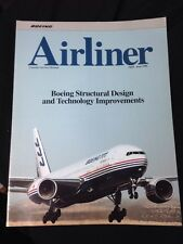"Vintage BOEING 777 ""Airliner"" Brochure, Apr.-June 1996, Boeing Structural Design"