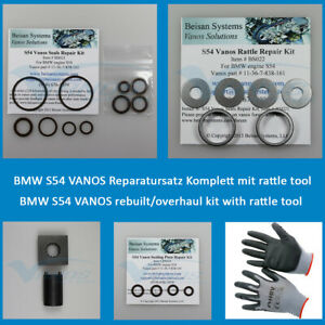 Beisan S54 VANOS repair kit XL complete with anti rattle tool and free gift