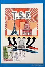 LA TSF PAR DUCRETET   FRANCE  Carte Postale Maximum FDC Yt C 17670