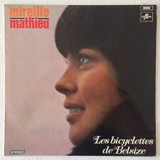 MIREILLE MATHIEU~LES BICYCLETTES DE BELSIZE~1968 AUSSIE 12-TRACK STEREO VINYL LP