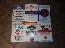 Lot of 8 One Minute Manager books - Ken Blanchard, S. Bowles, Spencer Johnson