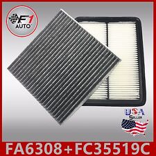 FA6308 FC35519C(CARBON) PREMIUM ENGINE & CABIN AIR FILTER for ACCORD TL & TSX V6