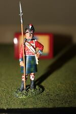 W Britain Napoleonic 5000C British 42nd Black Watch Highlander NCO Club Figure