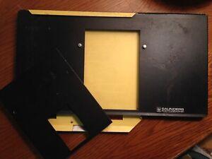 SAUNDERS ~ Model #MP810 ~ 8x10 Multi-Print Darkroom Photographic Enlarging Easel