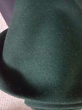 Bulmer and Lumb wool cashmere bottle green  barathea width 160 cm x 150 cm