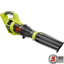 Ryobi RY40403 480CFM Variable-Speed Li-ion Jet Fan Turbo Leaf Blower Bare Tool