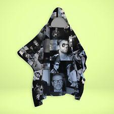 George Michael - Black & White Montage - SNUGAROO Hooded Fleece Poncho