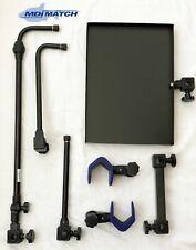 MDI Match Fishing Seat Box Accessory 7 Piece Set (Tray,Feeder Arm, Keepnet Arm+)