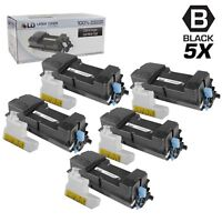 LD Set of 5 Comp Kyocera-Mita Black TK-3132 / 1T02LV0US0  Toner FS-4300DN