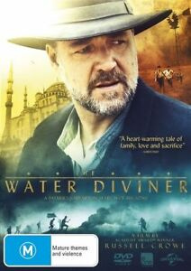 THE WATER DIVINER..RUSSELL CROWE..REG 4..NEW & SEALED   V4